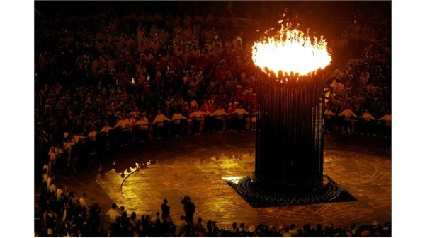 Olympic Cauldron - Photo Credit: London 2012