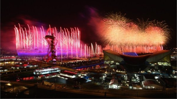 Opening Fireworks - Photo Credit: London 2012
