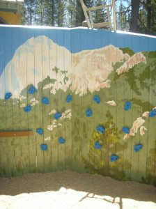 Idyllwild Community Playground - Recreation of a local peak