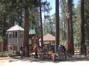 Idyllwild Community Playground - Build in progress!