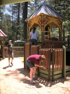 Idyllwild Community Playground - Finishing touches!