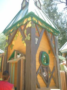 Idyllwild Community Playground - Hand painted & assembled