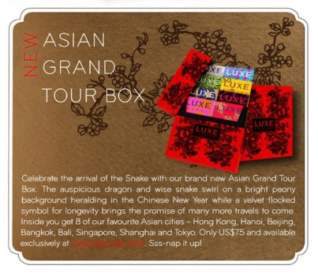 Luxe - Asian Tour Box