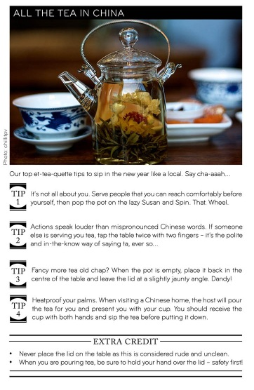 Luxe - Tea in China