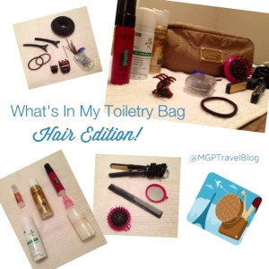 What's In My Toiletry Bag | Hair Edition